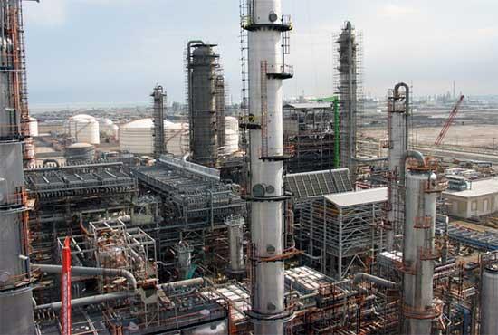 Mahshahr Petrochemical Special Economic Zone Export Tanks Project